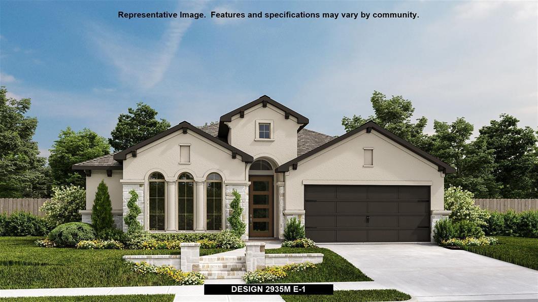 New Home Design, 2,935 sq. ft., 4 bed / 3.0 bath, 2-car garage