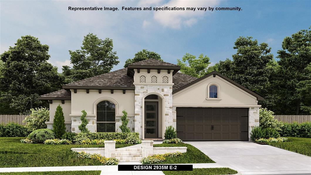 New Home Design, 2,935 sq. ft., 4 bed / 3.5 bath, 2-car garage