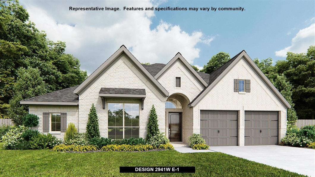 New Home Design, 2,941 sq. ft., 4 bed / 3.0 bath, 2-car garage