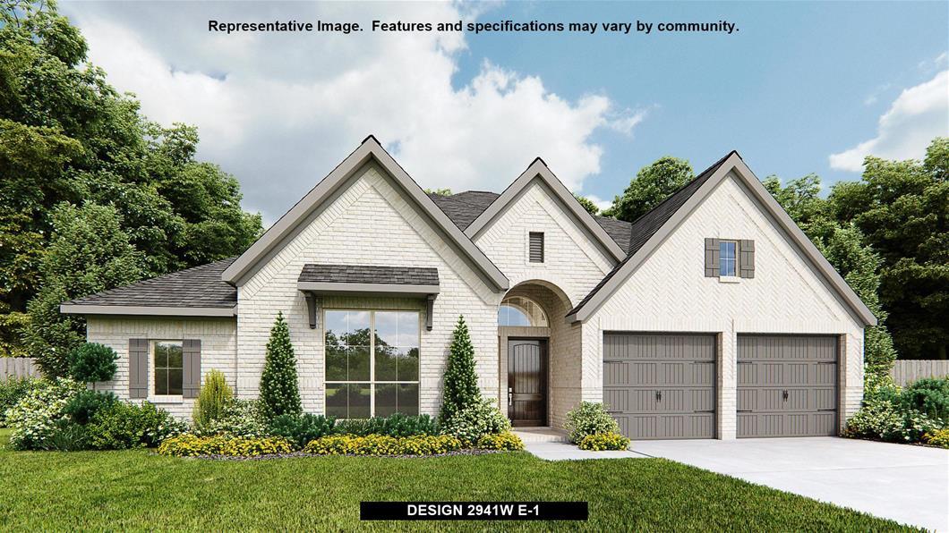 New Home Design, 2,941 sq. ft., 4 bed / 3.0 bath, 2-car garage