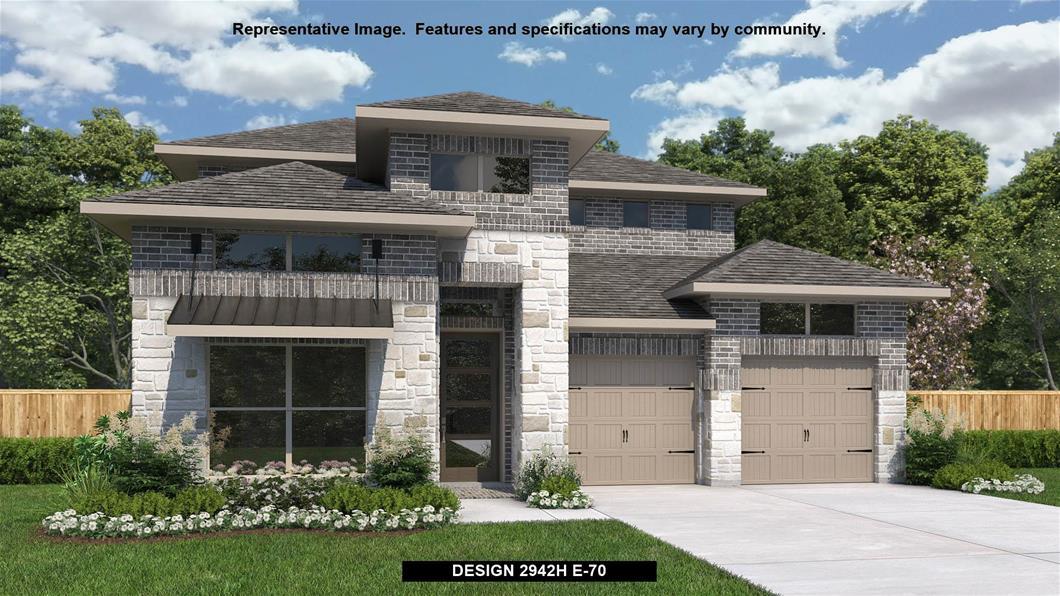 New Home Design, 2,942 sq. ft., 4 bed / 3.5 bath, 3-car garage
