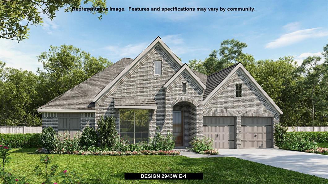 New Home Design, 2,943 sq. ft., 4 bed / 3.0 bath, 2-car garage
