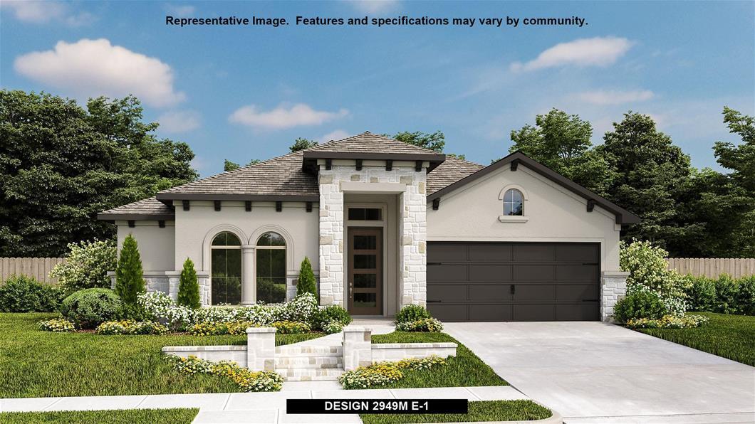 New Home Design, 2,949 sq. ft., 4 bed / 3.0 bath, 2-car garage