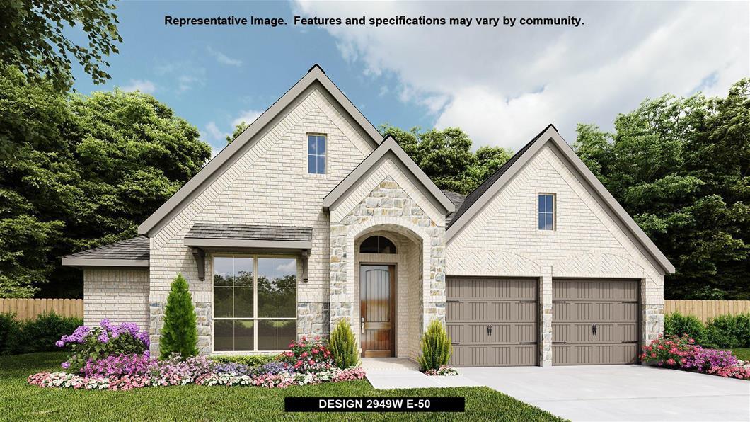 New Home Design, 2,949 sq. ft., 4 bed / 3.5 bath, 2-car garage