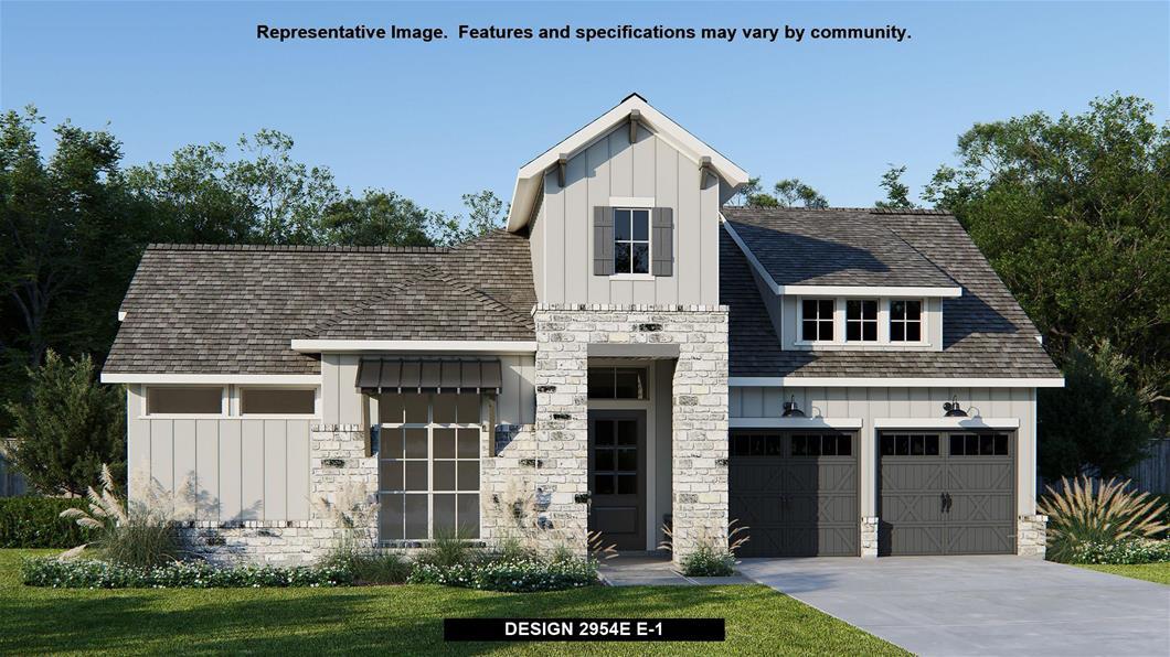 New Home Design, 2,954 sq. ft., 4 bed / 3.0 bath, 3-car garage