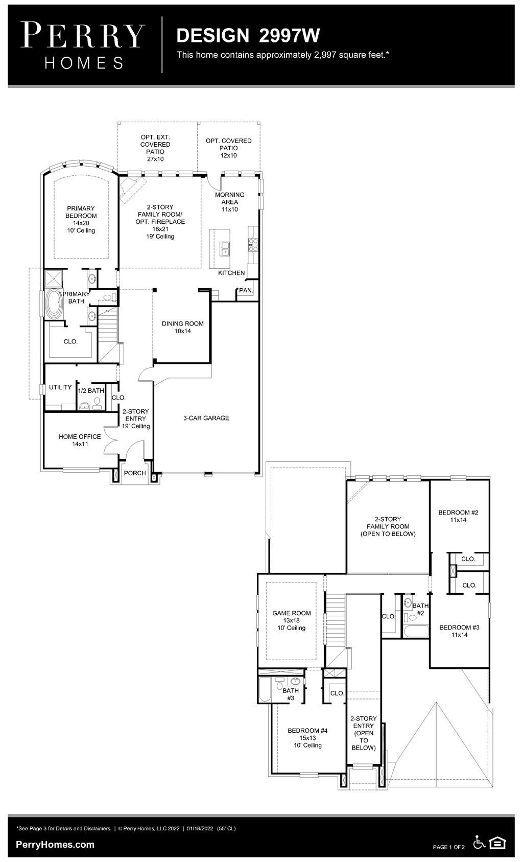 Floor Plan for 2997W