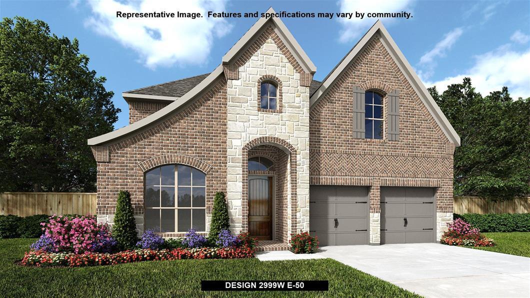 New Home Design, 2,999 sq. ft., 4 bed / 3.5 bath, 3-car garage