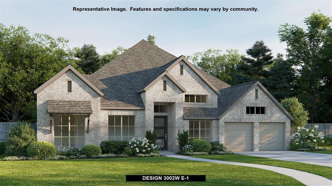 New Home Design, 3,002 sq. ft., 4 bed / 3.0 bath, 3-car garage
