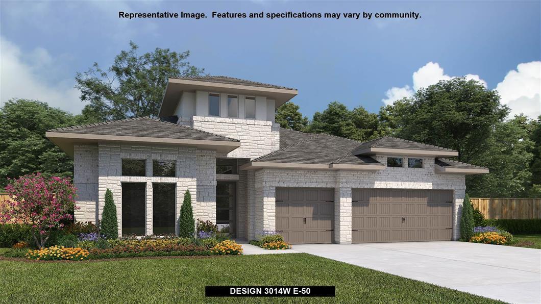New Home Design, 3,014 sq. ft., 4 bed / 3.5 bath, 3-car garage