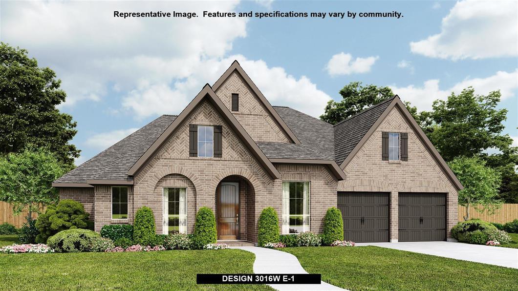 New Home Design, 3,016 sq. ft., 4 bed / 3.0 bath, 3-car garage