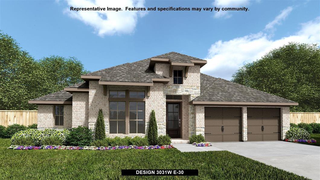New Home Design, 3,031 sq. ft., 4 bed / 3.0 bath, 3-car garage