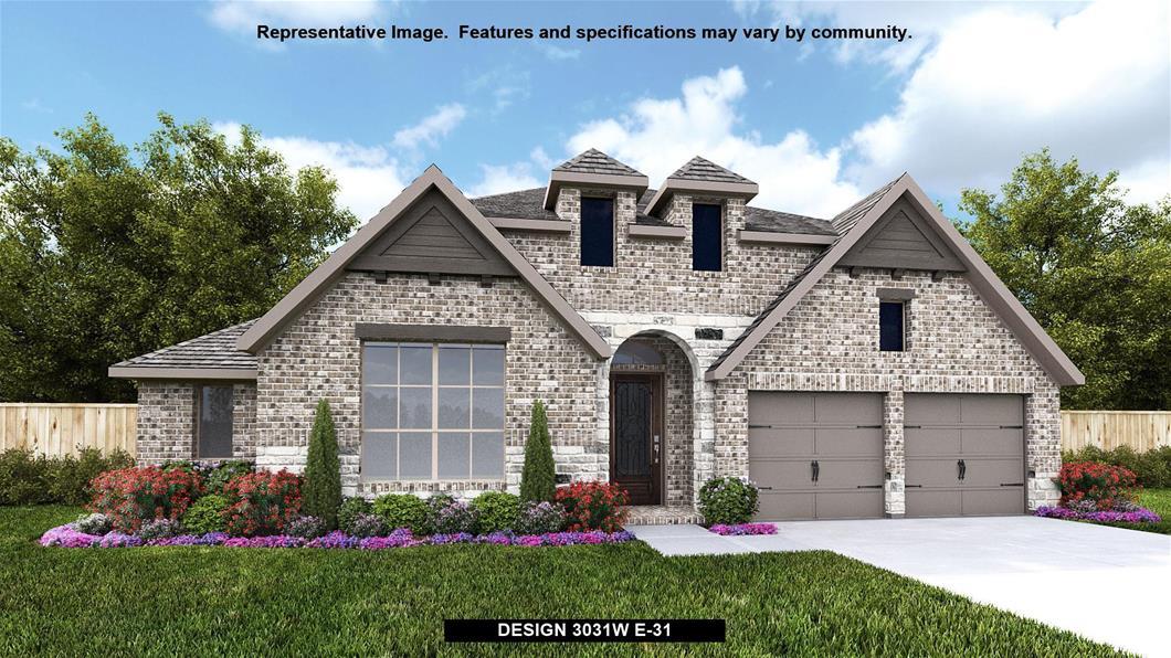 New Home Design, 3,031 sq. ft., 4 bed / 3.0 bath, 4-car garage