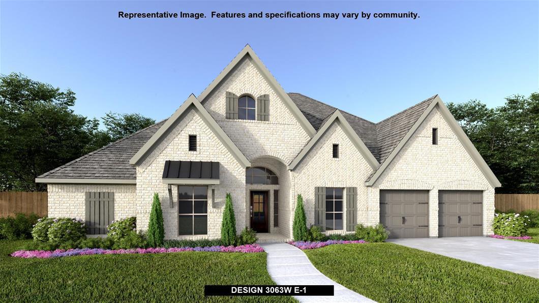 New Home Design, 3,063 sq. ft., 4 bed / 3.0 bath, 3-car garage