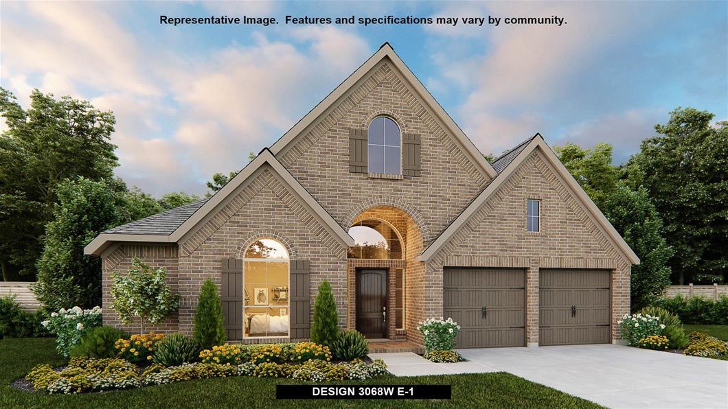New Home Design, 3,068 sq. ft., 4 bed / 3.0 bath, 2-car garage