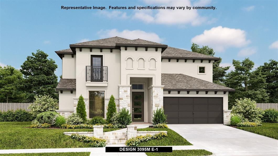 New Home Design, 3,095 sq. ft., 4 bed / 3.0 bath, 3-car garage