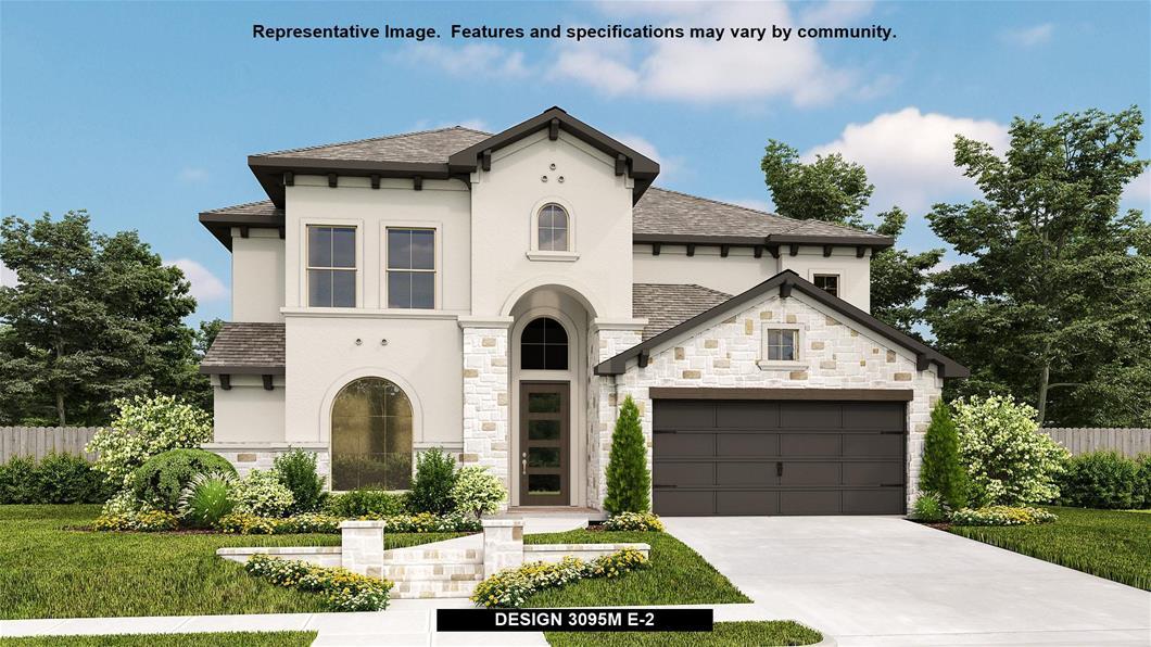 New Home Design, 3,325 sq. ft., 4 bed / 3.5 bath, 3-car garage