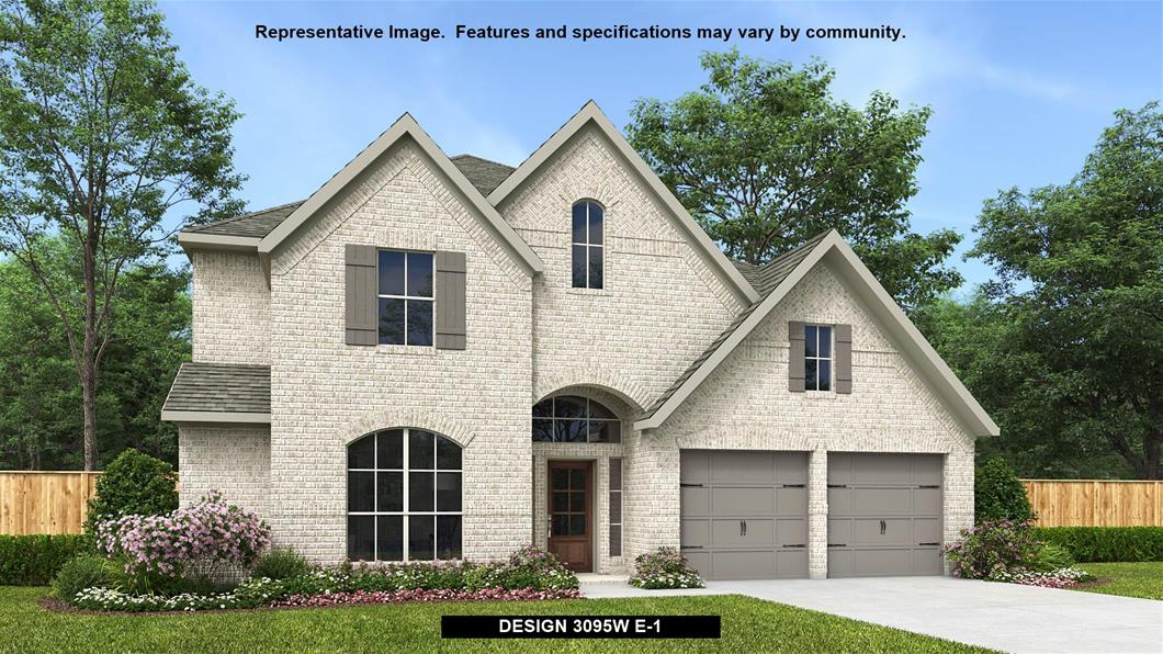 New Home Design, 3,095 sq. ft., 4 bed / 3.0 bath, 3-car garage