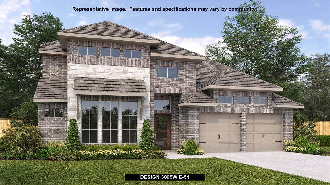 New Home Design, 3,351 sq. ft., 4 bed / 3.5 bath, 3-car garage