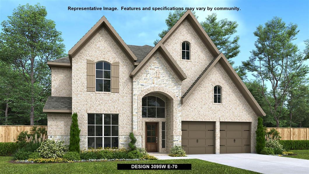 New Home Design, 3,121 sq. ft., 4 bed / 3.5 bath, 3-car garage