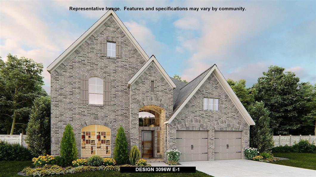 New Home Design, 3,096 sq. ft., 4 bed / 3.5 bath, 3-car garage