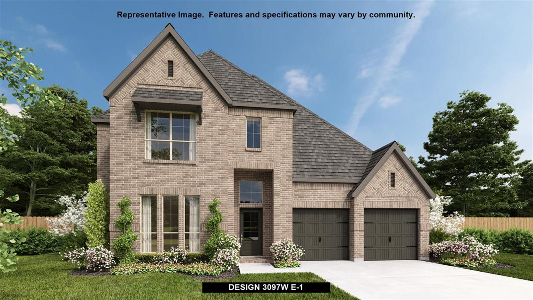 New Home Design, 3,097 sq. ft., 4 bed / 3.5 bath, 3-car garage