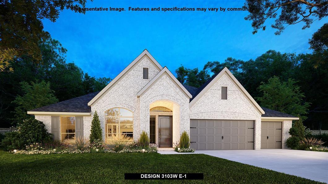 New Home Design, 3,103 sq. ft., 4 bed / 3.0 bath, 3-car garage