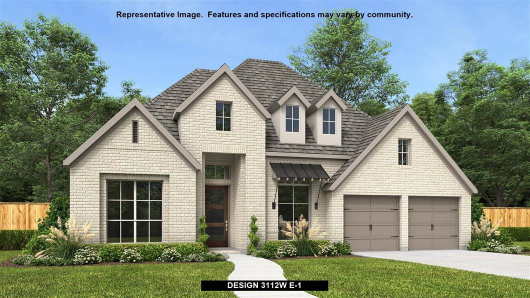New Home Design, 3,112 sq. ft., 4 bed / 3.5 bath, 3-car garage