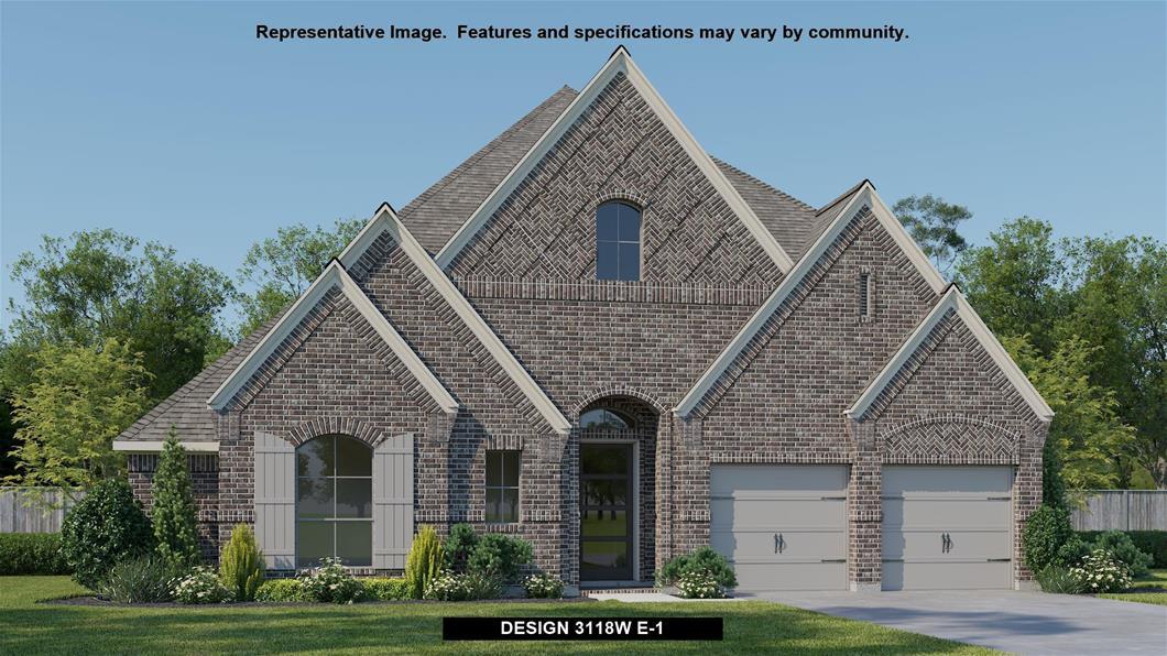 New Home Design, 3,118 sq. ft., 4 bed / 3.0 bath, 3-car garage