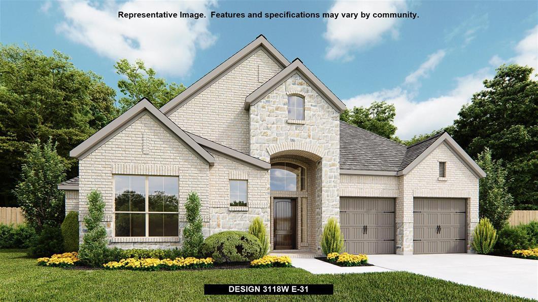 New Home Design, 3,118 sq. ft., 4 bed / 3.5 bath, 3-car garage