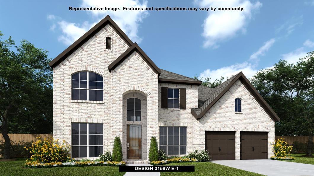 New Home Design, 3,158 sq. ft., 4 bed / 3.5 bath, 3-car garage