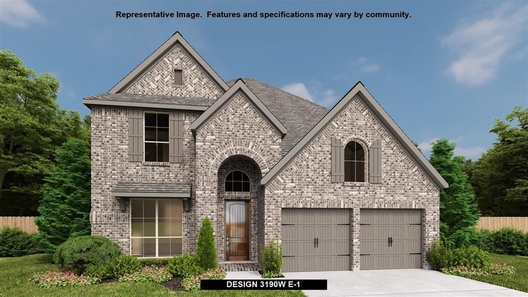 New Home Design, 3,190 sq. ft., 4 bed / 3.5 bath, 3-car garage