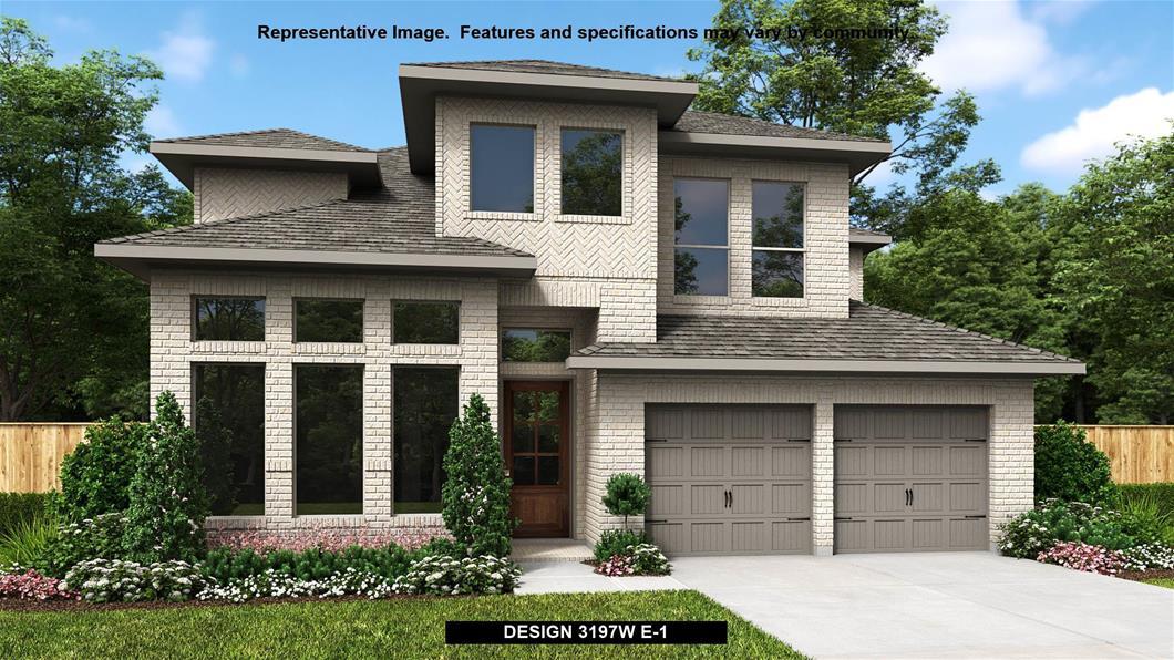 New Home Design, 3,197 sq. ft., 4 bed / 3.5 bath, 3-car garage