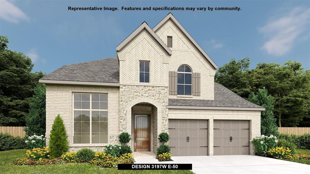 New Home Design, 3,257 sq. ft., 4 bed / 3.5 bath, 3-car garage