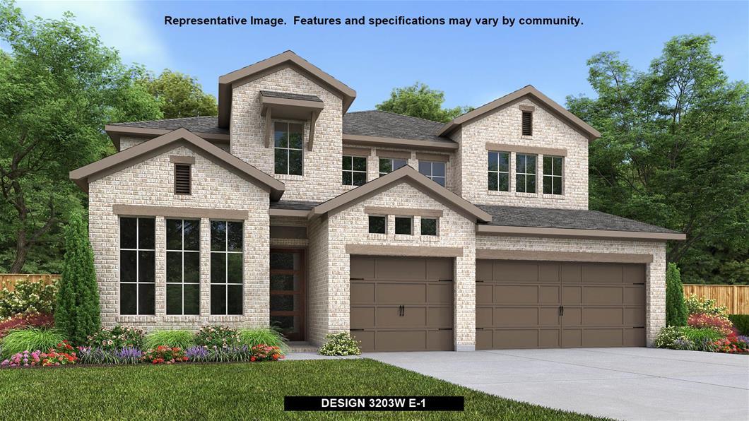 New Home Design, 3,203 sq. ft., 4 bed / 3.5 bath, 3-car garage