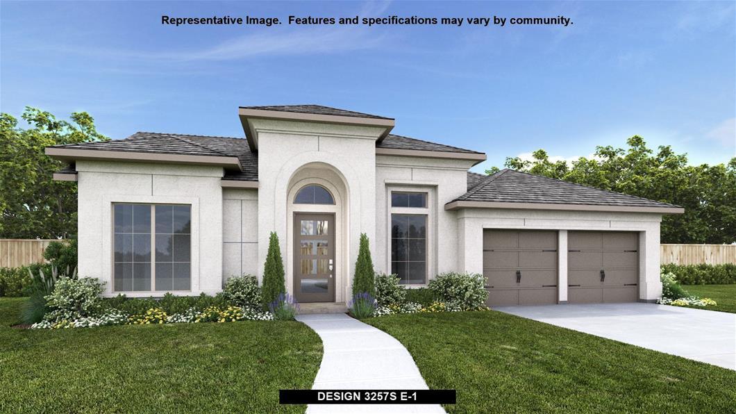 New Home Design, 3,257 sq. ft., 4 bed / 3.0 bath, 3-car garage