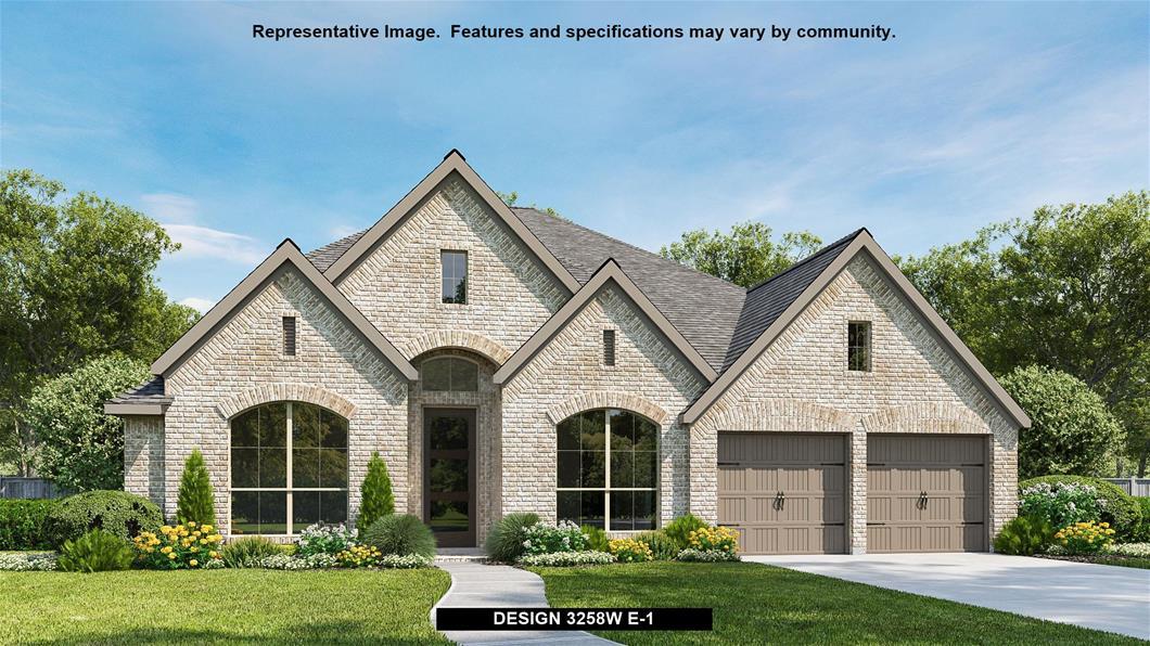 New Home Design, 3,258 sq. ft., 4 bed / 3.0 bath, 3-car garage