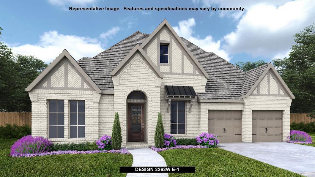 New Home Design, 3,263 sq. ft., 4 bed / 3.0 bath, 3-car garage