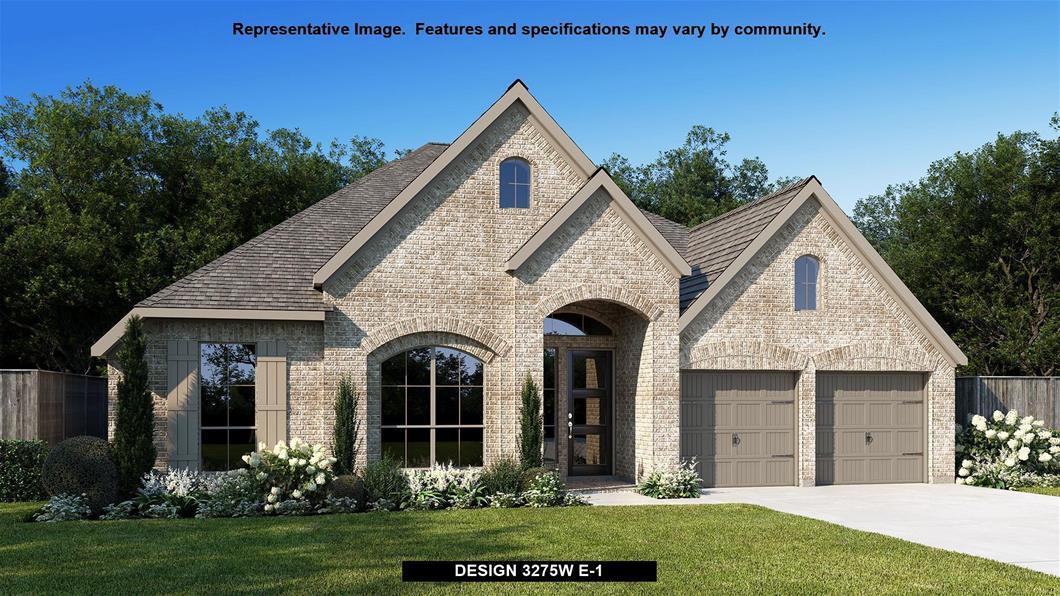 New Home Design, 3,275 sq. ft., 4 bed / 3.0 bath, 3-car garage