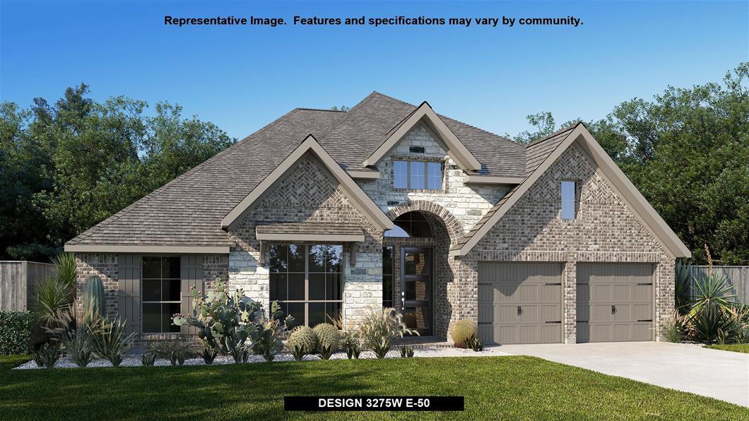 New Home Design, 3,275 sq. ft., 4 bed / 3.5 bath, 3-car garage