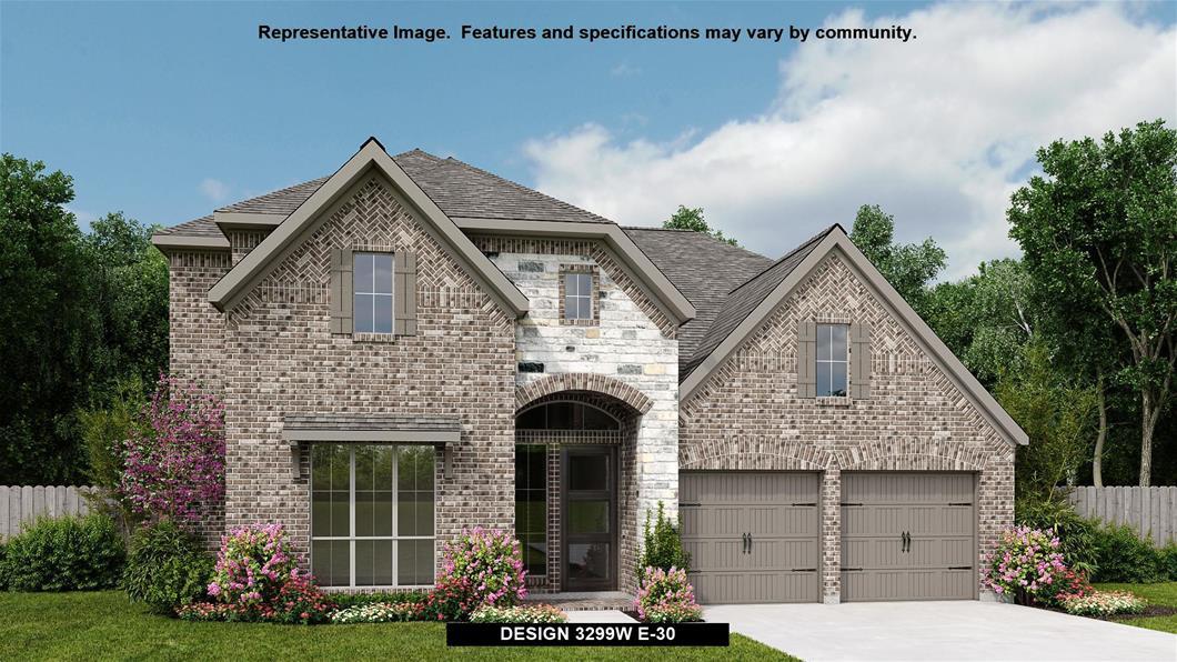 New Home Design, 3,299 sq. ft., 4 bed / 3.5 bath, 3-car garage