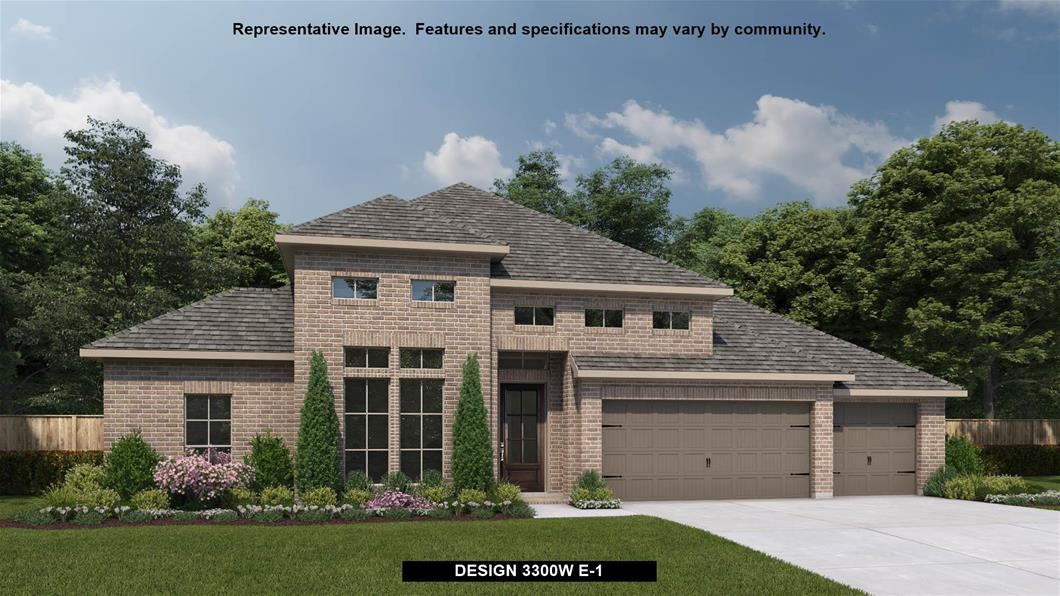 New Home Design, 3,300 sq. ft., 4 bed / 3.0 bath, 3-car garage