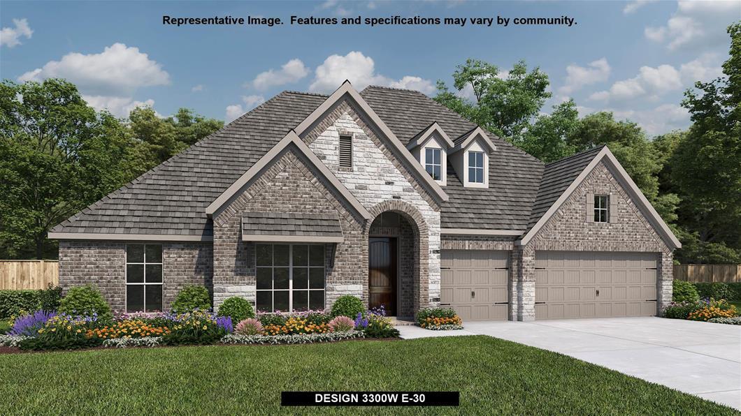 New Home Design, 3,300 sq. ft., 4 bed / 3.5 bath, 3-car garage
