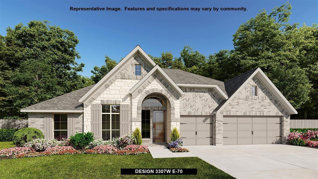 New Home Design, 3,307 sq. ft., 4 bed / 3.5 bath, 3-car garage