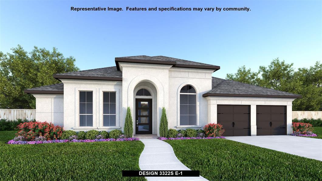 New Home Design, 3,322 sq. ft., 4 bed / 3.0 bath, 3-car garage