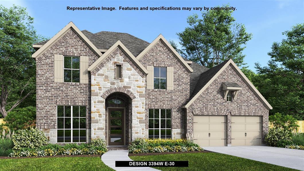 New Home Design, 3,394 sq. ft., 5 bed / 4.5 bath, 3-car garage