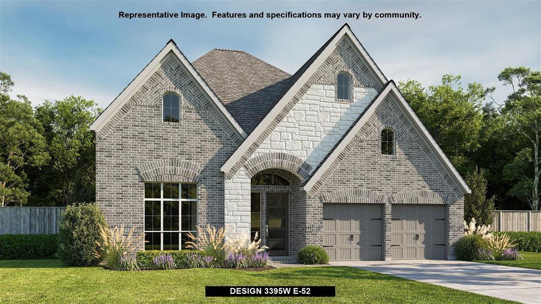 New Home Design, 3,395 sq. ft., 5 bed / 4.5 bath, 3-car garage