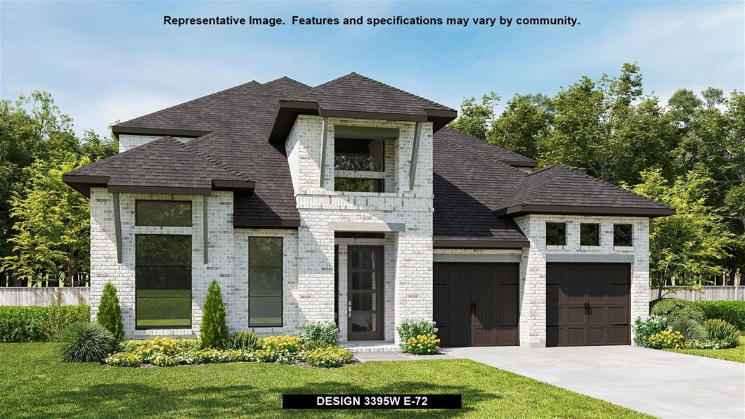 New Home Design, 3,395 sq. ft., 4 bed / 3.5 bath, 3-car garage