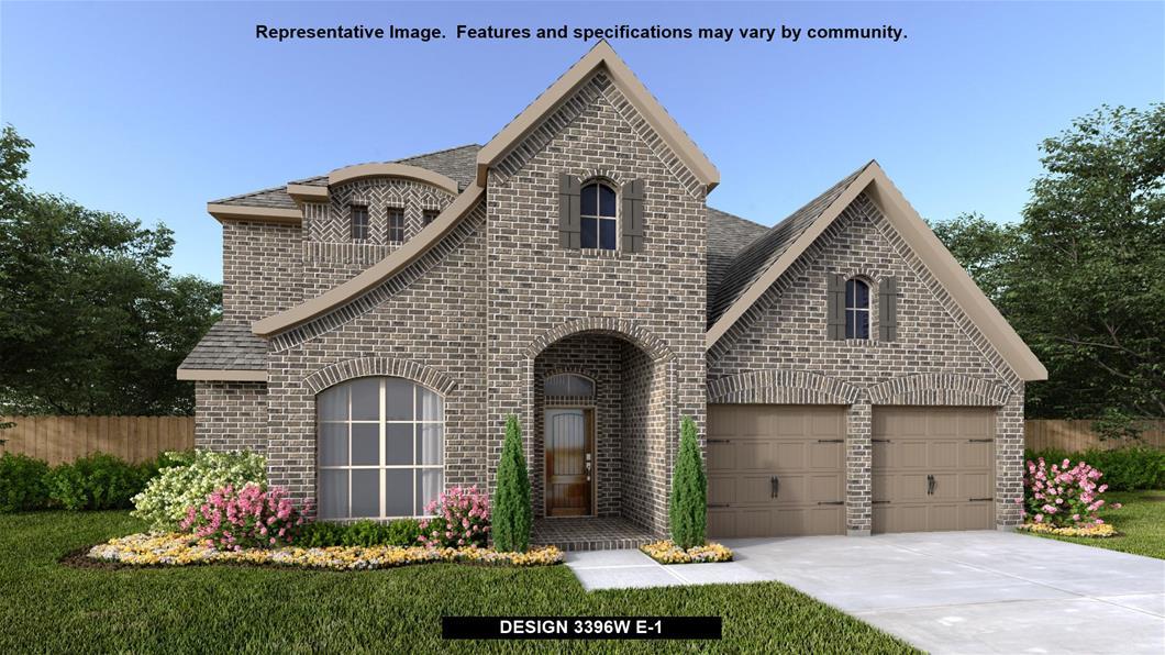 New Home Design, 3,396 sq. ft., 4 bed / 3.5 bath, 3-car garage