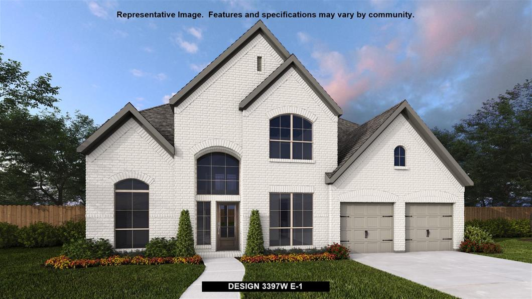 New Home Design, 3,397 sq. ft., 5 bed / 4.0 bath, 3-car garage