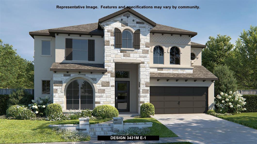New Home Design, 3,500 sq. ft., 5 bed / 4.5 bath, 3-car garage